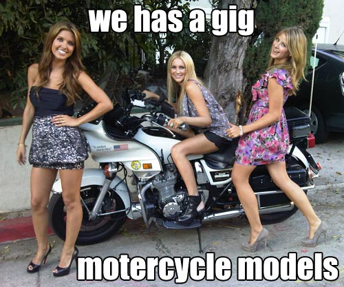 we has a gig motercycle models